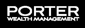 porter wealth management logo white