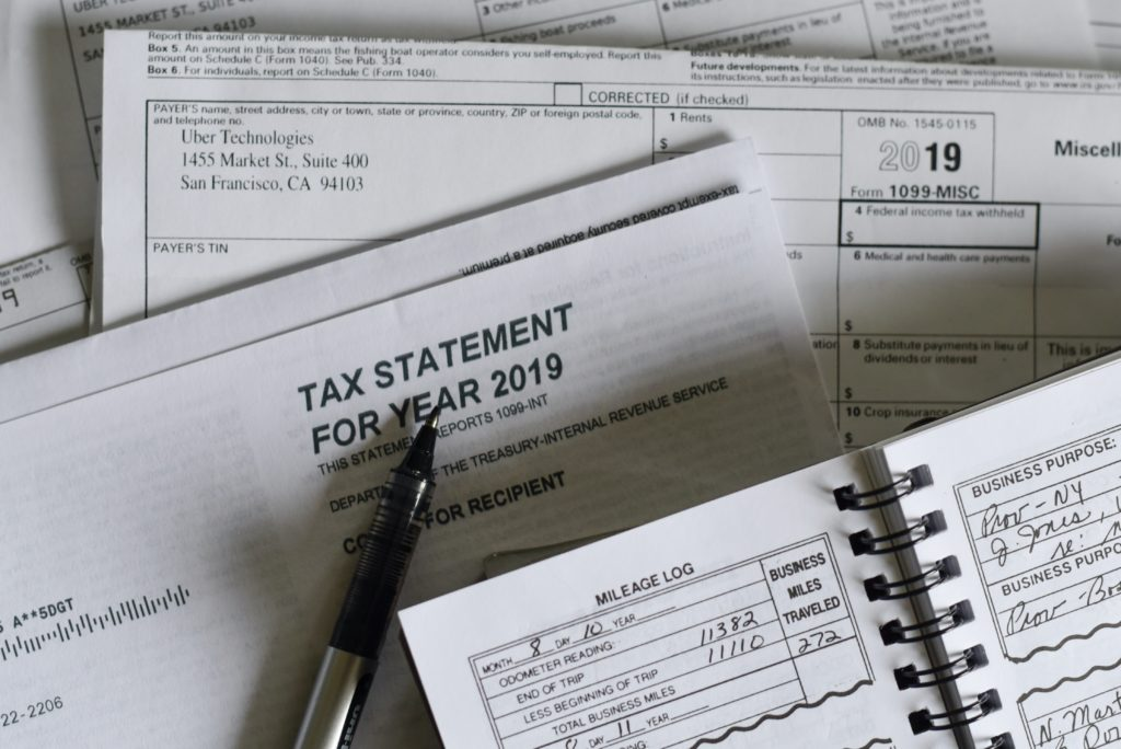 tax statement for year 2019